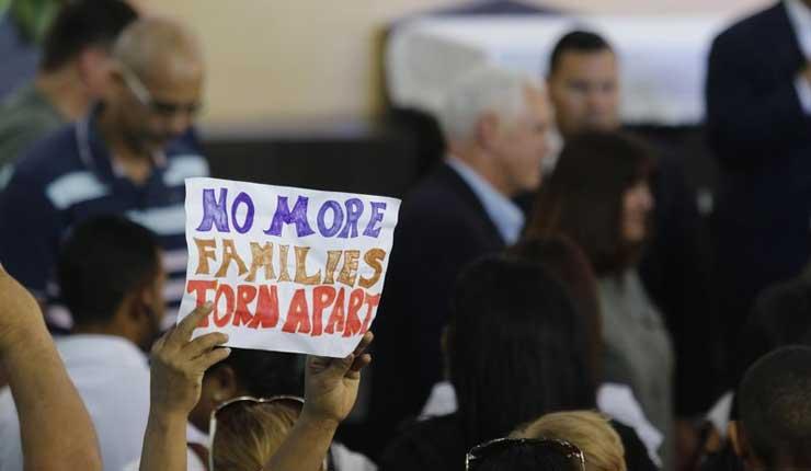 Pence promete apoyo de EEUU a exiliados venezolanos