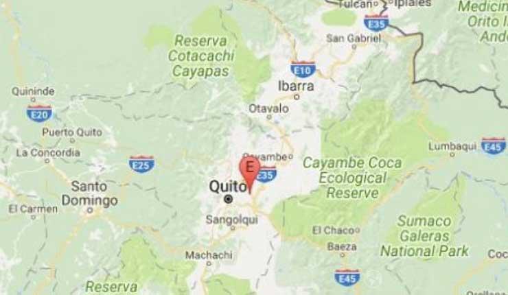 Un sismo de 3.3 grados de magnitud se registró en Pichincha