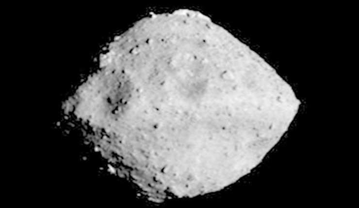 Sonda espacial japonesa se acerca a 20 km de asteroide