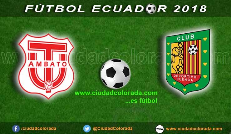 Técnico Universitario vs Deportivo Cuenca