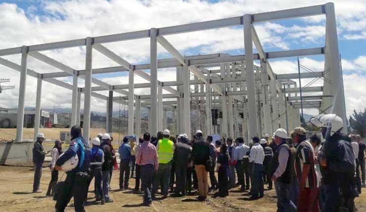 Nueva terminal en el sur de Ambato servirá a 30.000 pasajeros