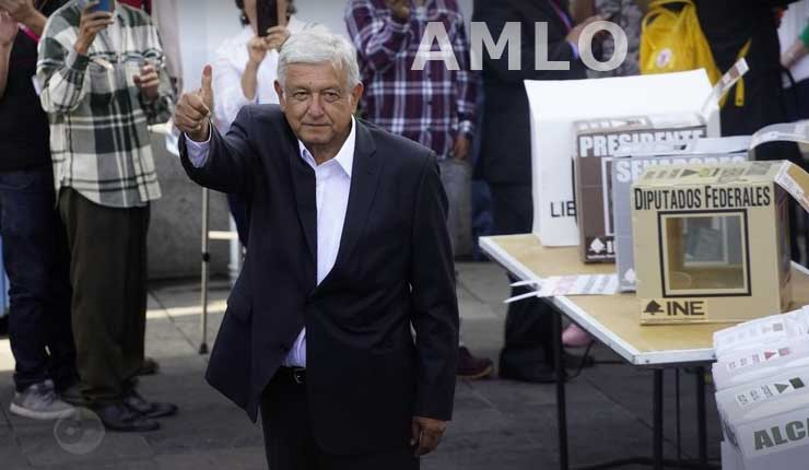 AMLO encabeza encuesta de salida en presidenciales de México