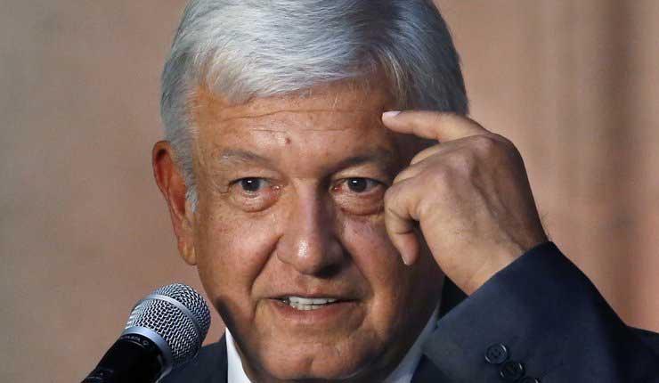Andres Lopez Obrador, México, Presidente Electo,
