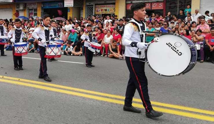 Desfile Cívico, Santo Domingo, Cantonización,