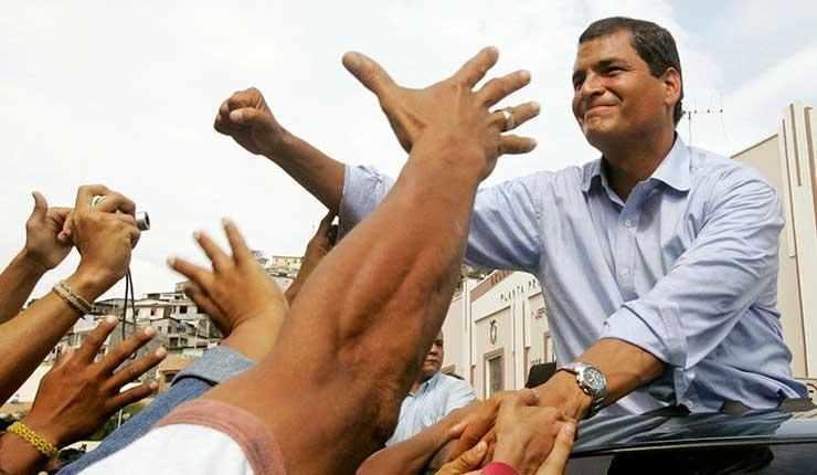 Rafael Correa, Marcha, Ecuador, #Yo Soy Correa,