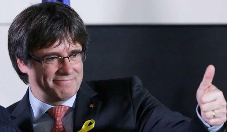 Líder separatista catalán Puigdemont regresará a Bélgica