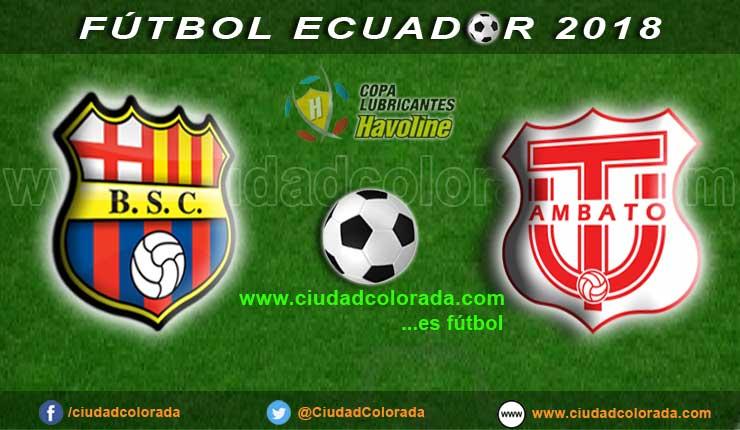 Barcelona, Fútbol, Técnico Universitario, Campeonato Ecuatoriano,