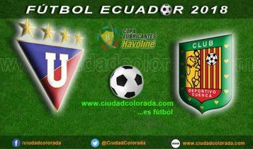 Liga de Quito, Fútbol, Deportivo Cuenca, Campeonato Ecuatoriano,