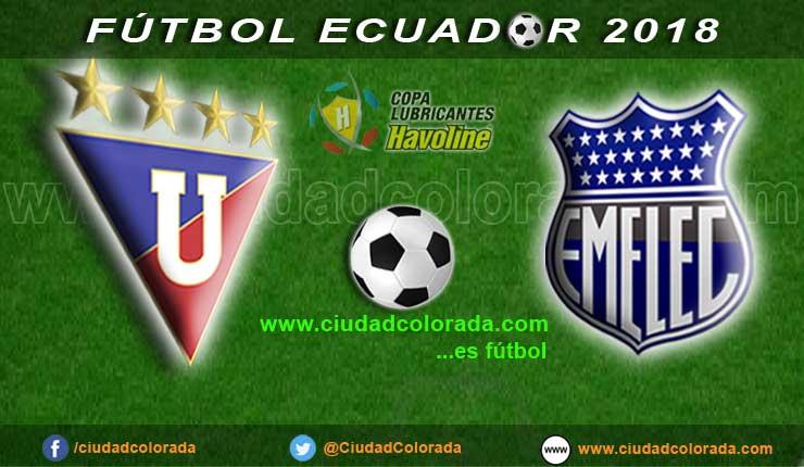 Liga de Quito, Fútbol, Emelec, Campeonato Ecuatoriano, GOL TV, EN VIVO,