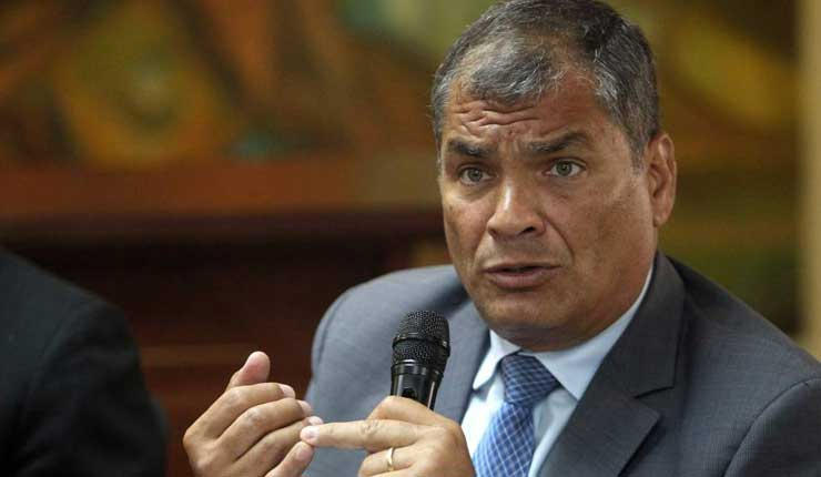 Rafael Correa, difusión de presunto audio entre Serrano y Chicaiza genera nulidad de cooperación eficaz