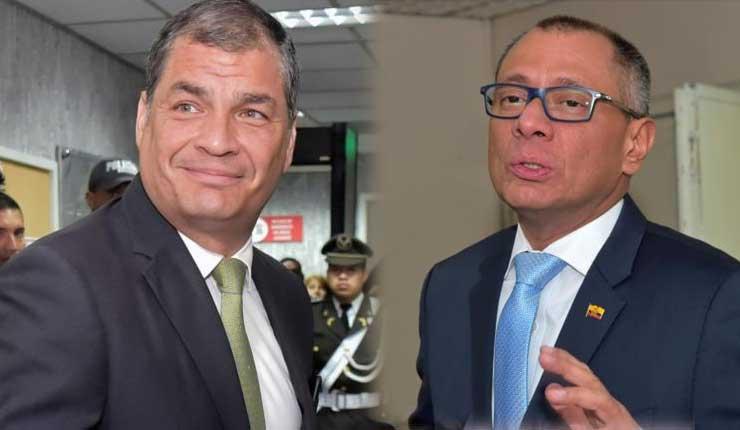 Tramitan medidas cautelares en la CIDH a favor de Correa y Glas