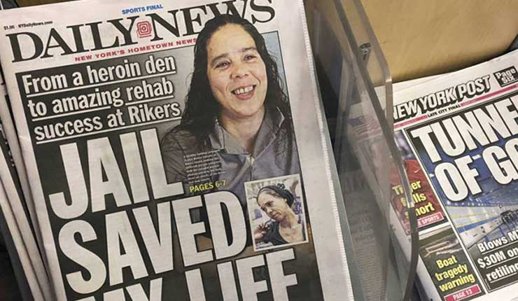 Diario de NY Daily News reducirá su personal por la mitad