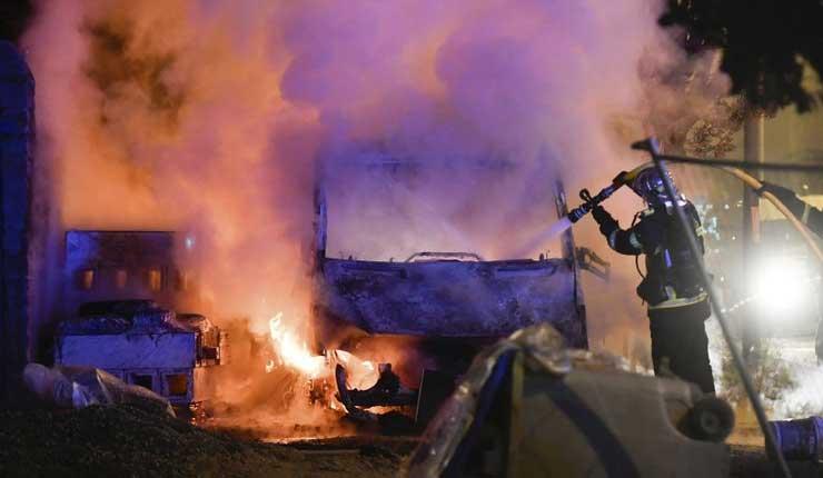 Disturbios, Francia, Protestas,