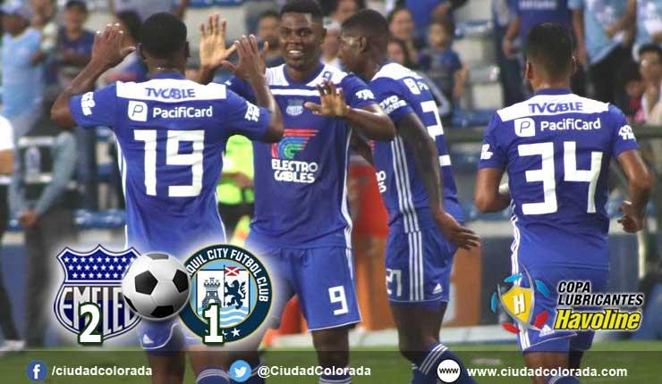 Emelec gana 2 a 1 al Guayaquil City