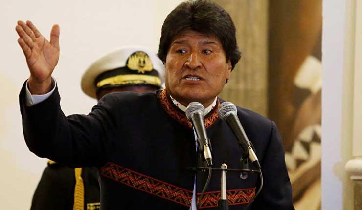 Evo Morales, Bolivia, Tumor,
