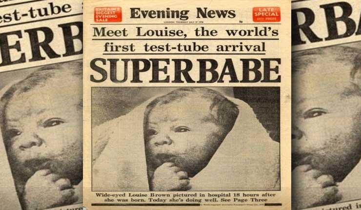 La primera niña que nació por fecundación in vitro ya cumplió 40 años