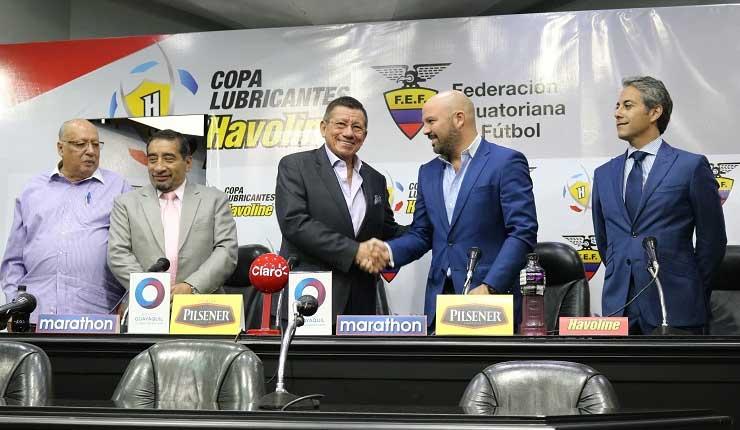 FEF Firmó convenio con Liga Profesional de Futbol