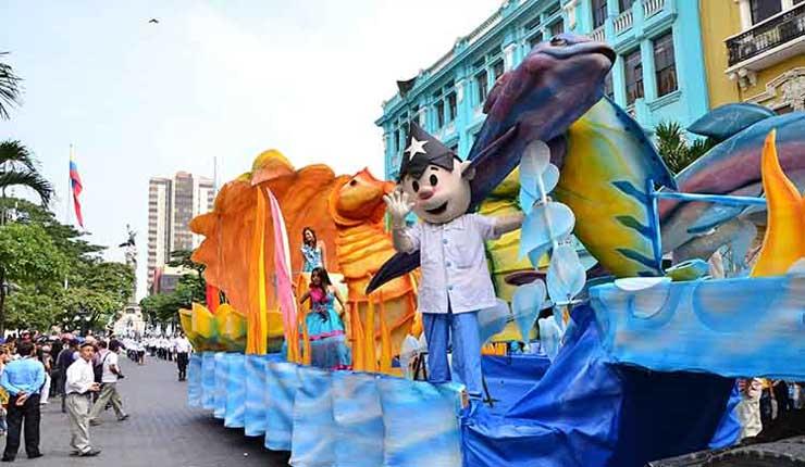 Guayaquil festeja en sus calles los 483 años de fundación