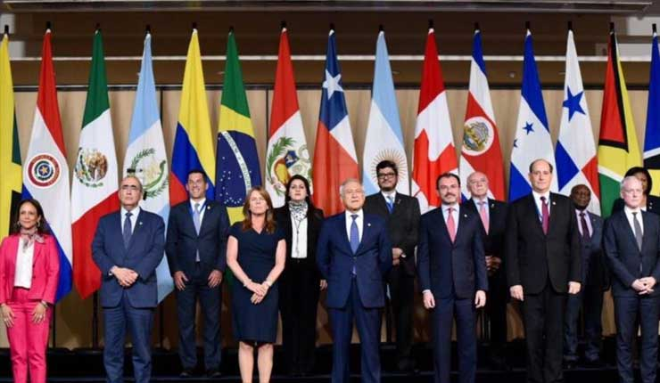 Miembros del Grupo de Lima anuncia medidas para presionar al gobierno de Venezuela