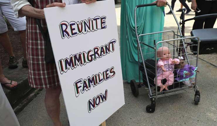 EE UU devuelve a 57 niños a sus padres inmigrantes