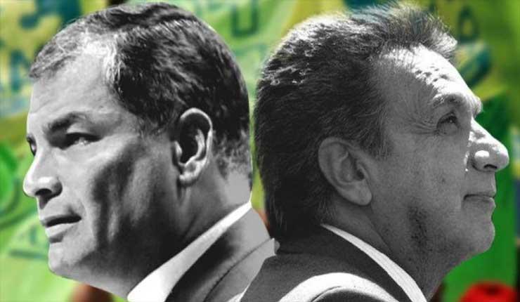 El libreto del Lawfare contra Rafael Correa