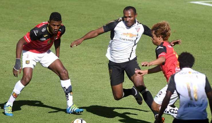 Deportivo Cuenca Vence 2 0 A Liga De Quito En Casa Blanca