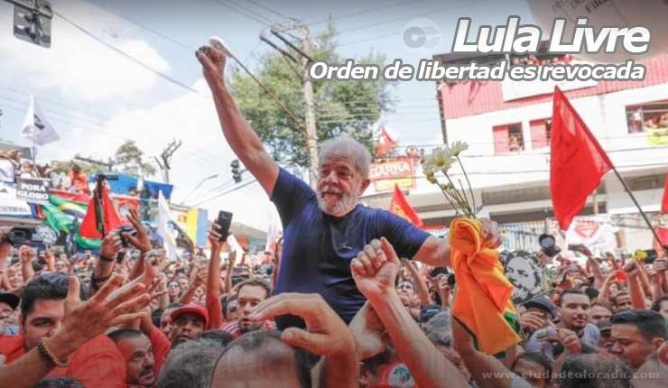Ordenan la liberación de #LulaLibre