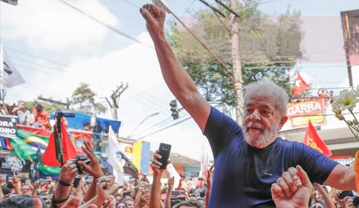Tribunal de La Haya Reconoce a Lula da Silva como preso político y solicita su inmediata liberación