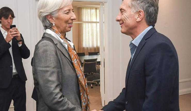 Mauricio Macri, FMI, Economía, Argentina,