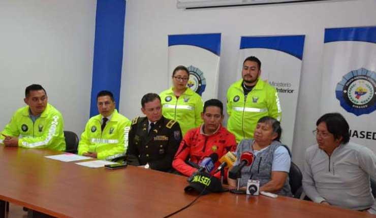 Policía encuentra a cuatro niñas desaparecidas en Ecuador