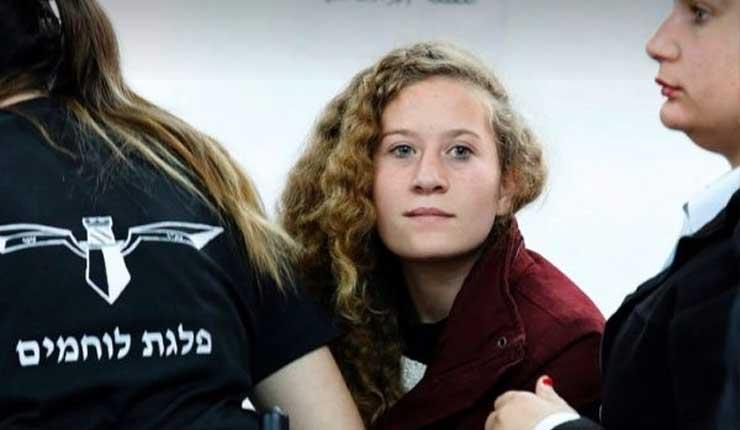 Israel libera a joven palestina Tamimi tras ocho meses de cárcel