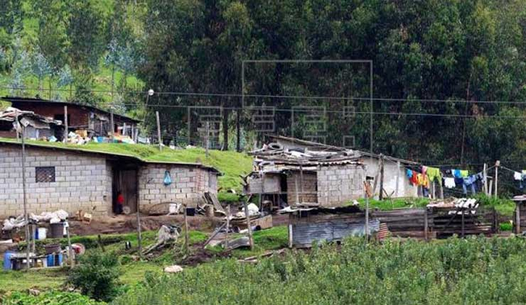 La pobreza rural en Ecuador crece por primera vez en una década y llega al 40 %