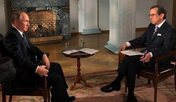 Vladímir Putin denuncia campaña antirrusa en el Reino Unido