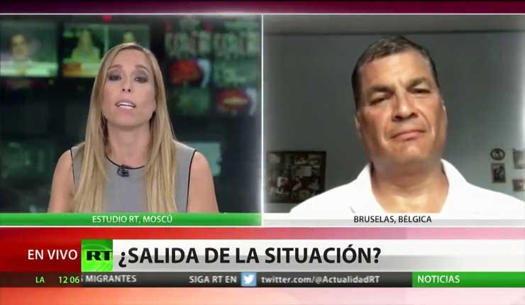 Correa se refiere a Julian Assange, Moreno habla de diálogo, pero está todo acordado con Washington