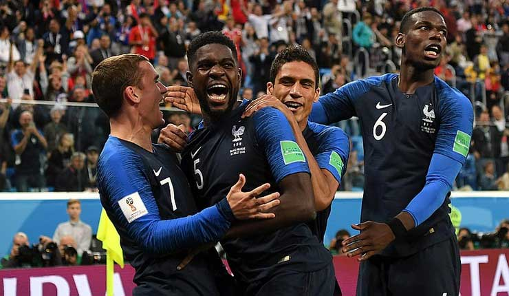 Selección de Francia, Mundial Rusia, Fútbol,