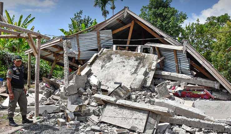 Un potente sismo de magnitud 6,4 deja al menos 14 muertos en Indonesia