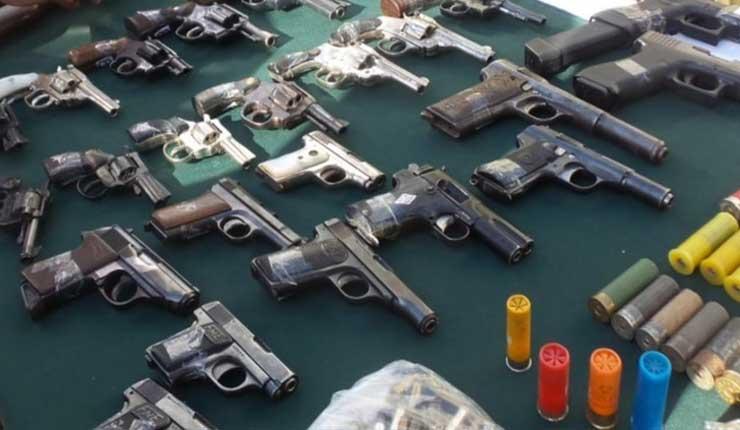 Pueblo sacó implementos de terroristas guardados en una iglesia en Nicaragua