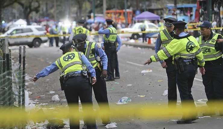 Un tiroteo masivo en Nueva Orleans deja tres muertos y siete heridos