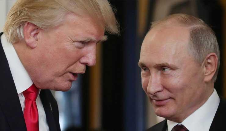 """Putin denuncia la presencia de """"fuerzas"""" estadounidenses """"dispuestas a sacrificar"""" las relaciones con Moscú"""