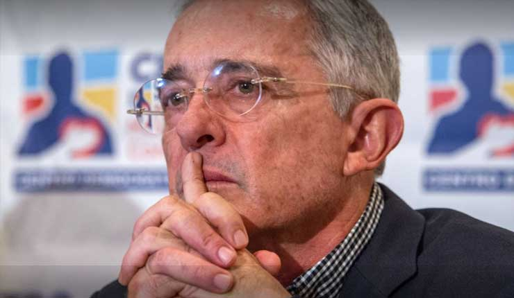 Justicia de Colombia cita a expresidente Uribe por caso de manipulación de testigos