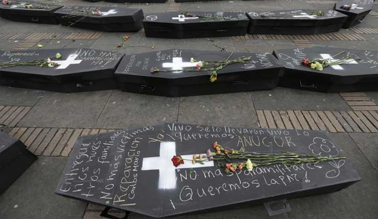 Más de 17 mil desplazados por violencia en Colombia