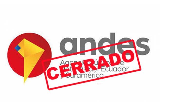 Gobierno de Lenín Moreno cierra agencia de noticias ANDES
