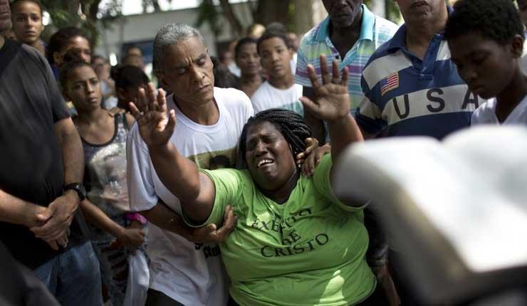 Brasil registra récord de homicidios