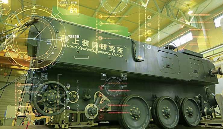 Japón confirmó el desarrollo de cañón con riel electromagnético