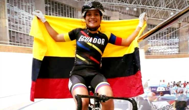 Ecuador medalla de oro del ciclismo Panamericano en Cochabamba