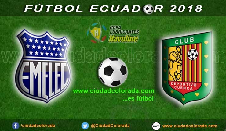 Emelec, Fútbol, Deportivo Cuenca, Campeonato Ecuatoriano, GOL TV, En Vivo,