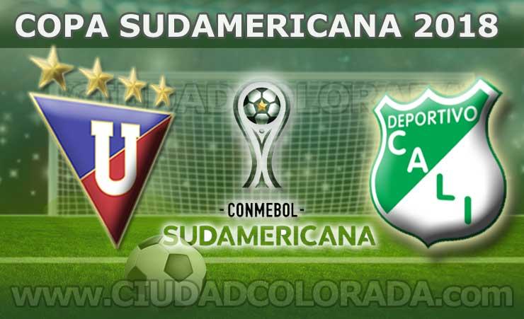 Liga de Quito, Fútbol, Deportivo Cali, Copa Sudamericana, FOX Sport, En Vivo,