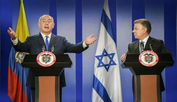 Israel sorprendido por decisión de Colombia sobre palestinos