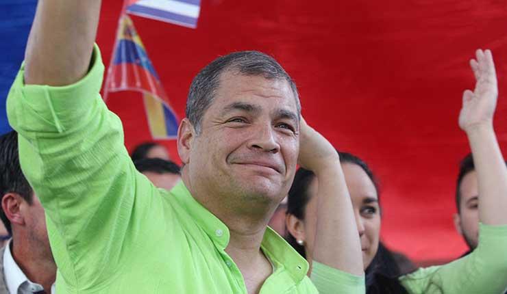 Movimiento político MANA que expulsó a Correa de sus filas no existe desde 2013
