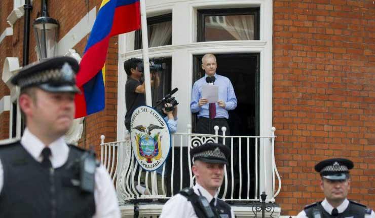 Embajada de Ecuador, Reino, Unido, Julian Assange, Ecuador, Lenin Moreno,